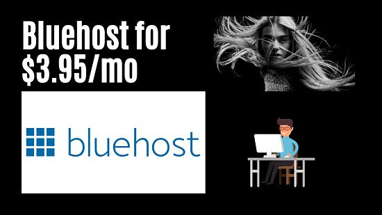 Get Your Hosting By Bluehost For Your Website
