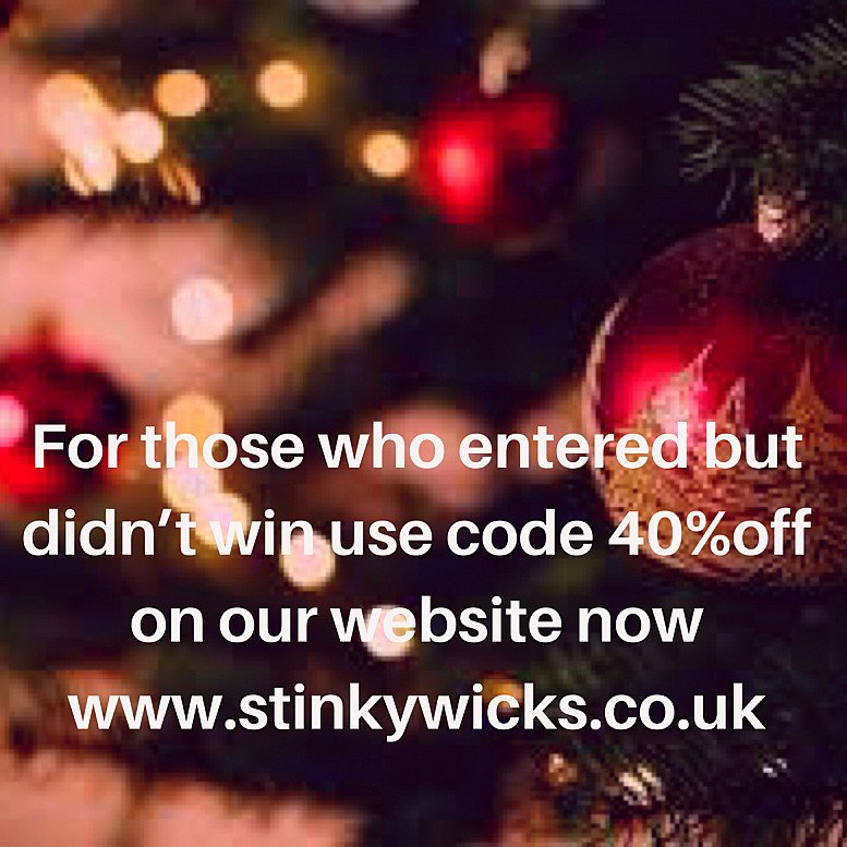 40% off Our Christmas wax melts for Snizl followers