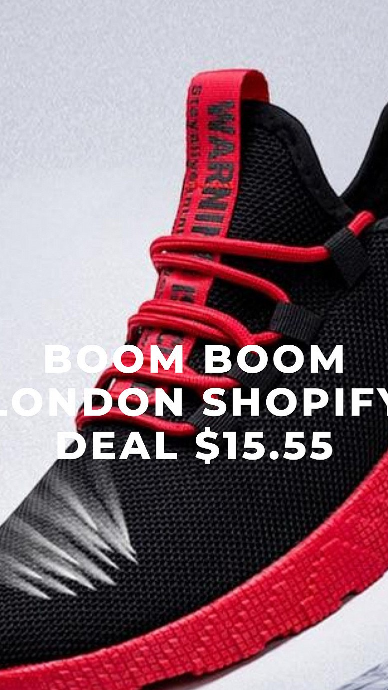 Boom Boom London Shopify Deal