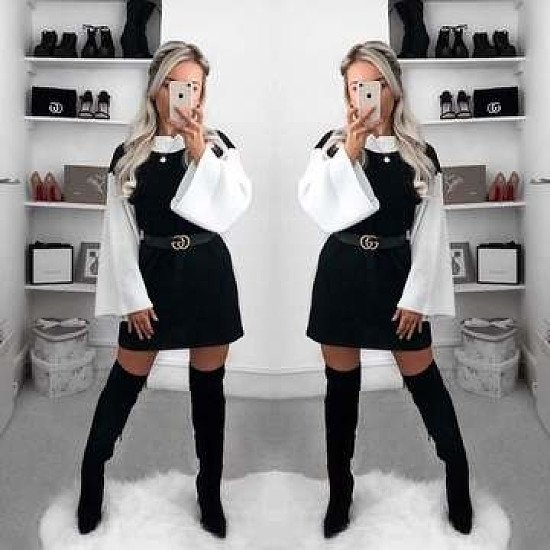 Bianca Knitted Jumper Dress £19.99