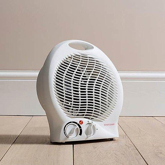 KEEP WARM - DF Fan Heater: £10.00!