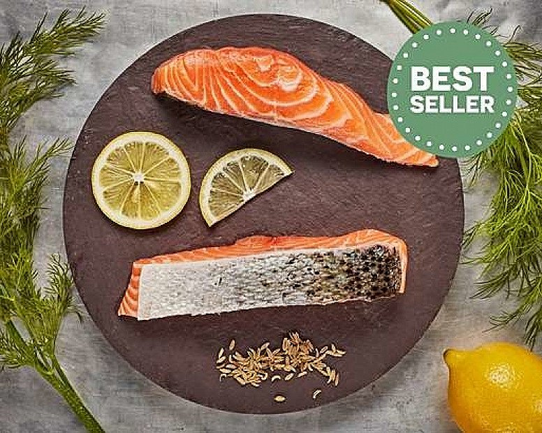 BEST SELLER - Salmon Fillets (260g): £7.48!