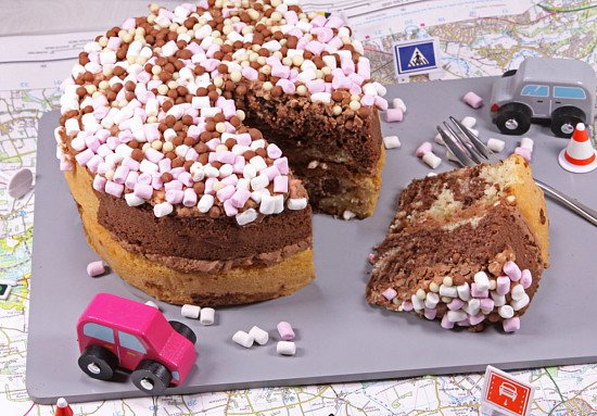 The Rocky Road Cake is now just £15.25!