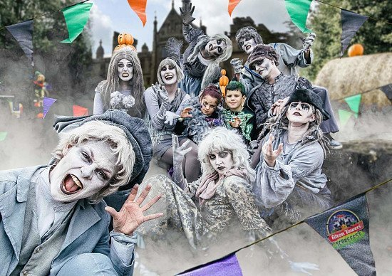 Visit Alton Towers Scarefest this Halloween - Thrilling Frights