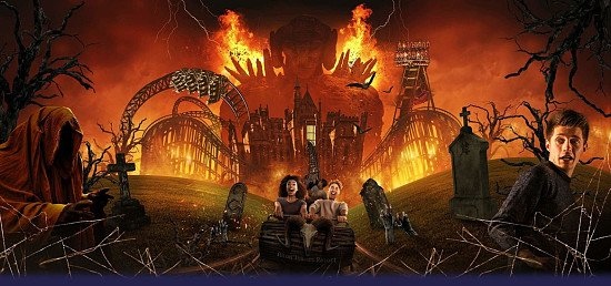 Visit Scarefest at Alton Towers for their Halloween Spooktacular!