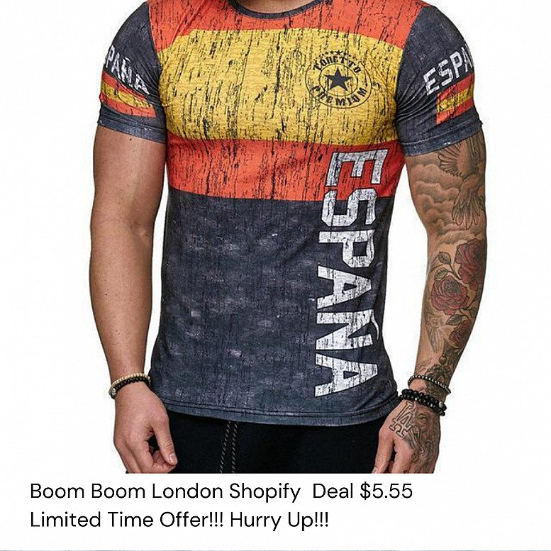 $ 5.55 *** Boom Boom London Shopify Great Value Deal