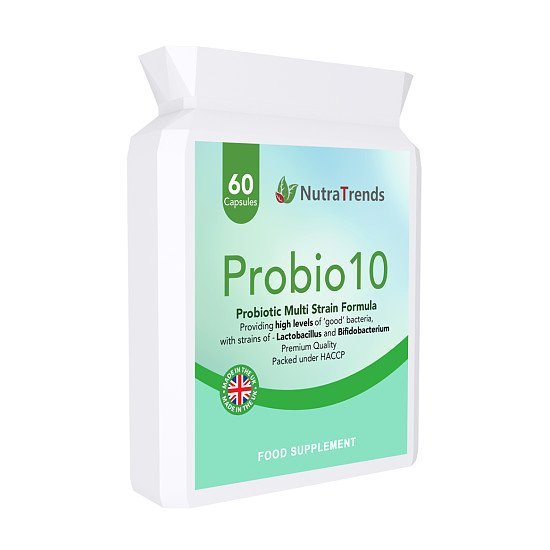 Probio10 is complete Probiotics Complex with 10 strains of 15 billion CFU live cultures in a capsule