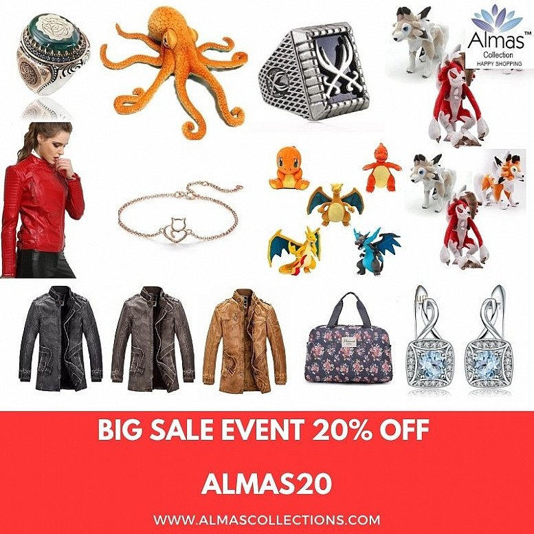 BIG SALE 20% OFF ALL PRODUCTS AND WORLDWIDE FREE SHIPPING
