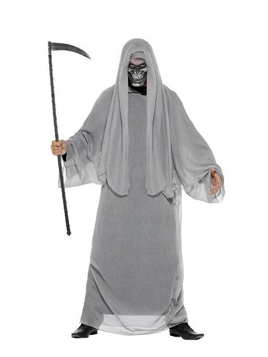 Prepare to Scare this Halloween with this Grim Reaper Costume!