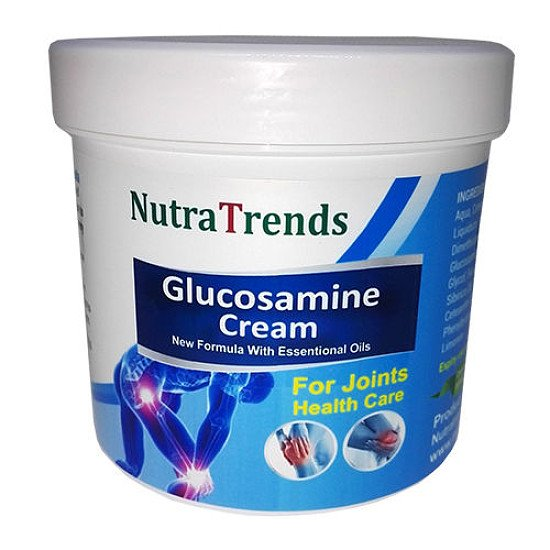Glucosamine cream with Essential Oills blend for bones, joints and muscle pain releif 250 ml cream