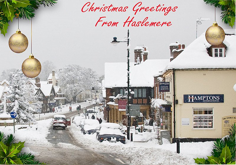 The Neema Society Selling Greetings from Haslemere  Christmas cards