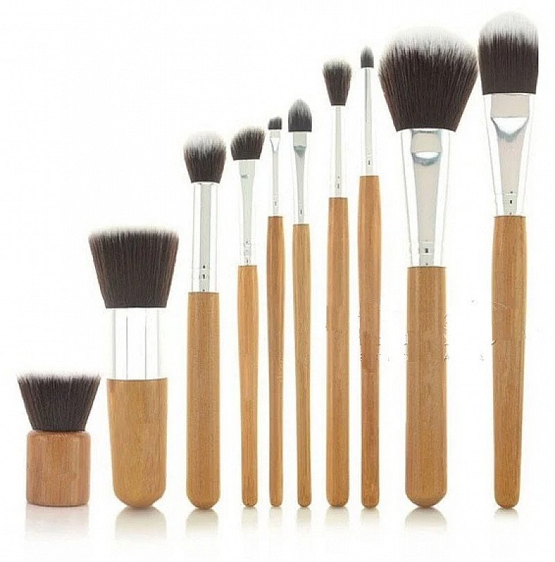 Eco-friendly Bamboo Makeup-up Brushes