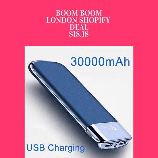 30000mAh Power Bank