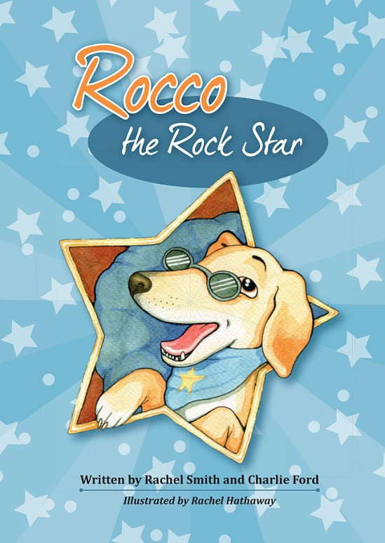Children's books |  Children's Gifts | Children's Book - Rocco the Rock Star