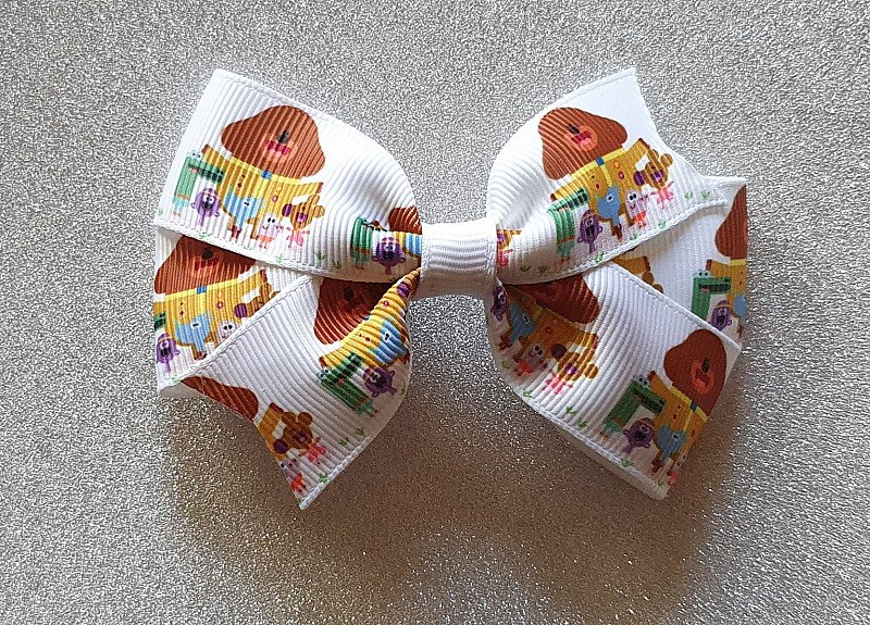 Baby Girls Childs Hey Duggee Hairbow