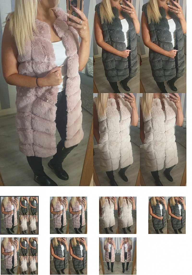 Erin Faux Fur Gilet (BB)