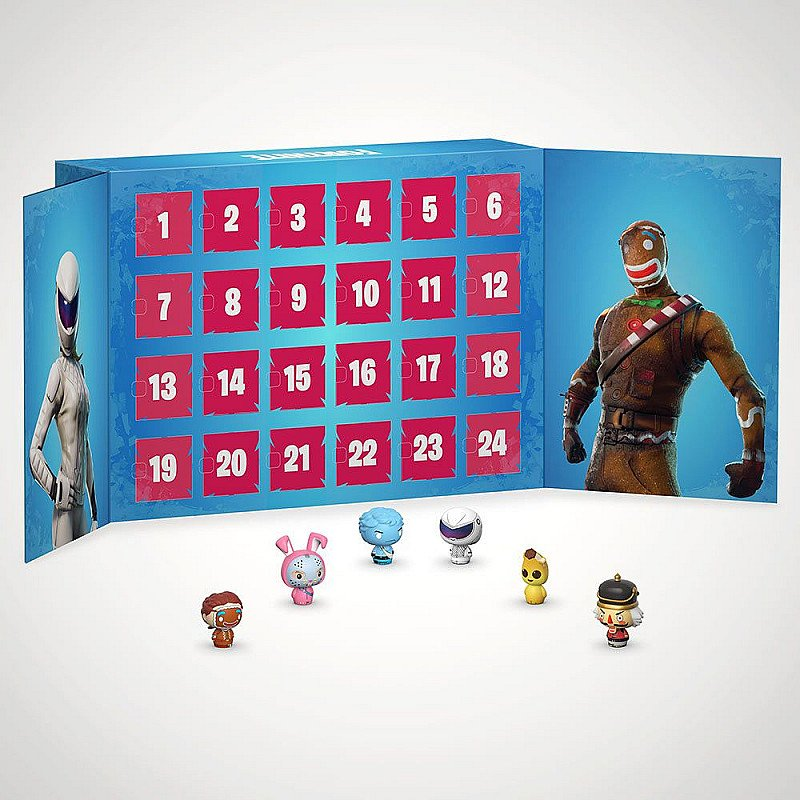 CHRISTMAS GIFTS - FORTNITE POCKET POP! ADVENT CALENDAR!