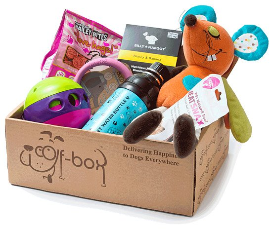 Looking for the perfect gift or one off treat for your furry friend? Try WOOF BOX: £24.99!