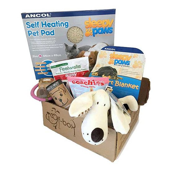 New addition to the family? Treat them to the Puppy Box from just £31.95 – £36.95!