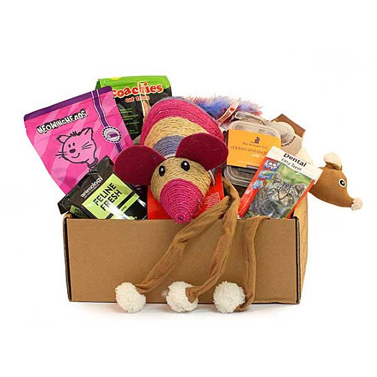 We don't just cater for dogs, treat your kitty to the Cat Gift Box - £19.50!