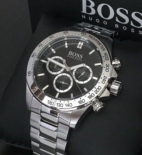 New arrival Hugo boss HB1512965 Black Ikon Watch Men's Watch