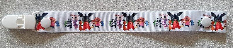 Bing Bunny Dummyclip Pacifier Strap