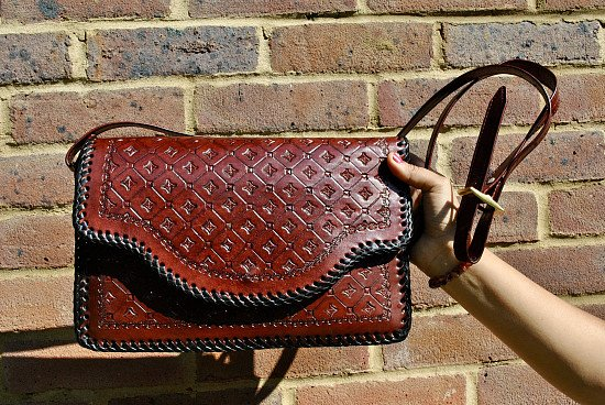Genuine Handmade Leather Handbag