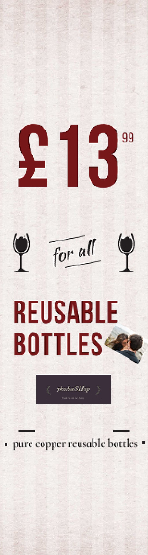 Reusable Bottle for all ***GBP 13.99***