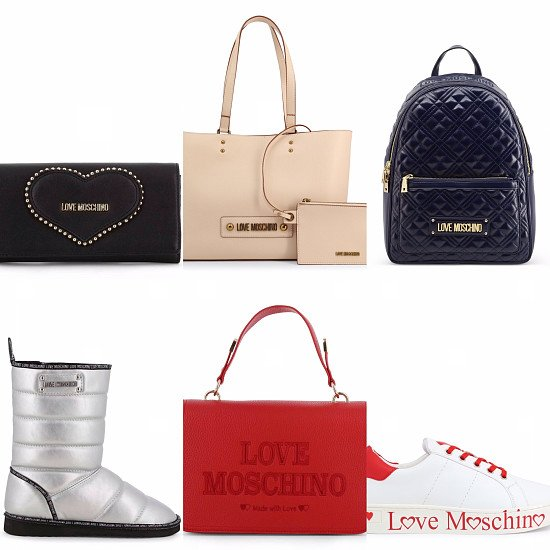 Save up to 70% on LOVE MOSCHINO GOODS and get an extra 10% at checkout