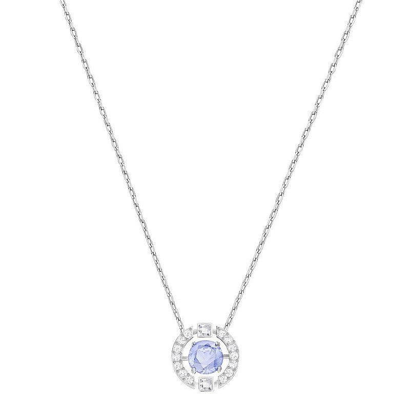 CHRISTMAS GIFT IDEAS: SWAROVSKI DANCING CRYSTAL BLUE NECKLACE - £89.00