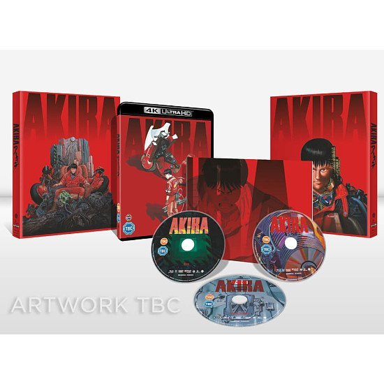 SAVE £10.00 - NEW IN AKIRA - Limited Edition 4K Ultra HD (Includes 2D Blu-ray)!