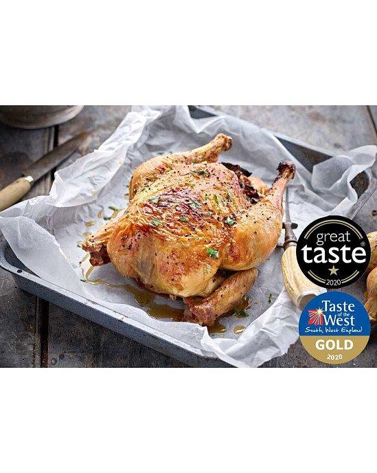 WINNER OF THE GREAT TASTE AWARD - Organic Whole Chicken: £14.20!