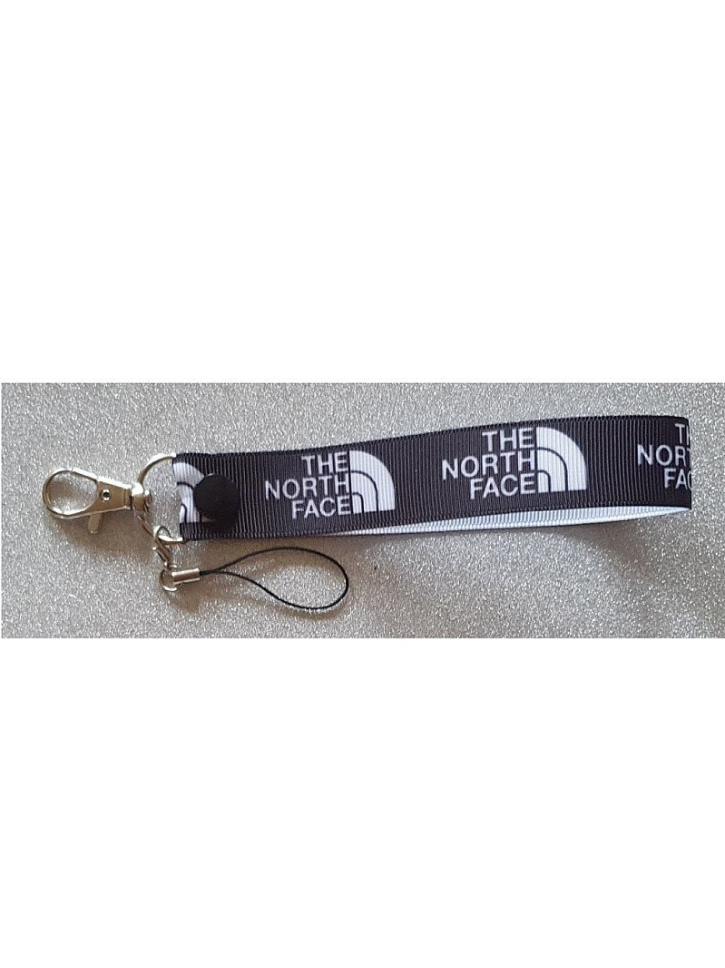 Ladies Mens North Face Wriststrap Keyfob Keyring