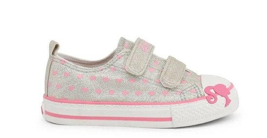 Barbie Dotty Sneakers grab one of your little girl now - Original Price £26.90 - Sale Price £22.90