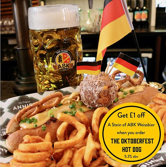 There's not long left to get your hands on our Oktoberfest Hot Dog!