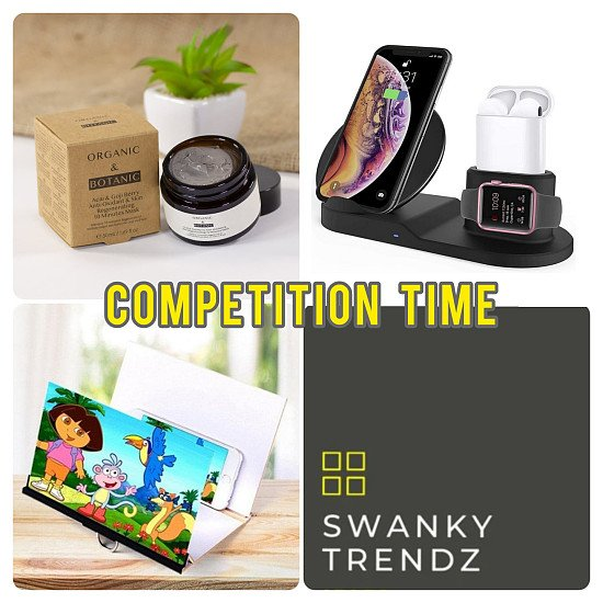 WIN one of these Swanky Prizes