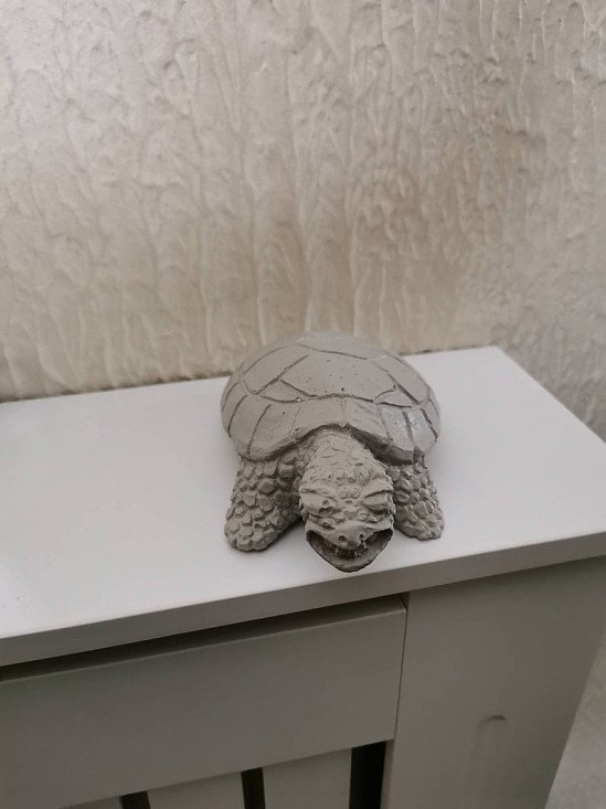Indoor outdoor turtle ornament