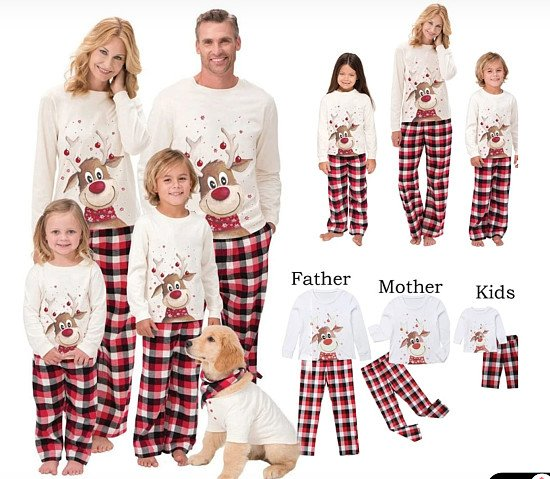 CHRISTMAS BARGAIN! Matching Christmas Family Pjyamas for only £14.99 each pair!
