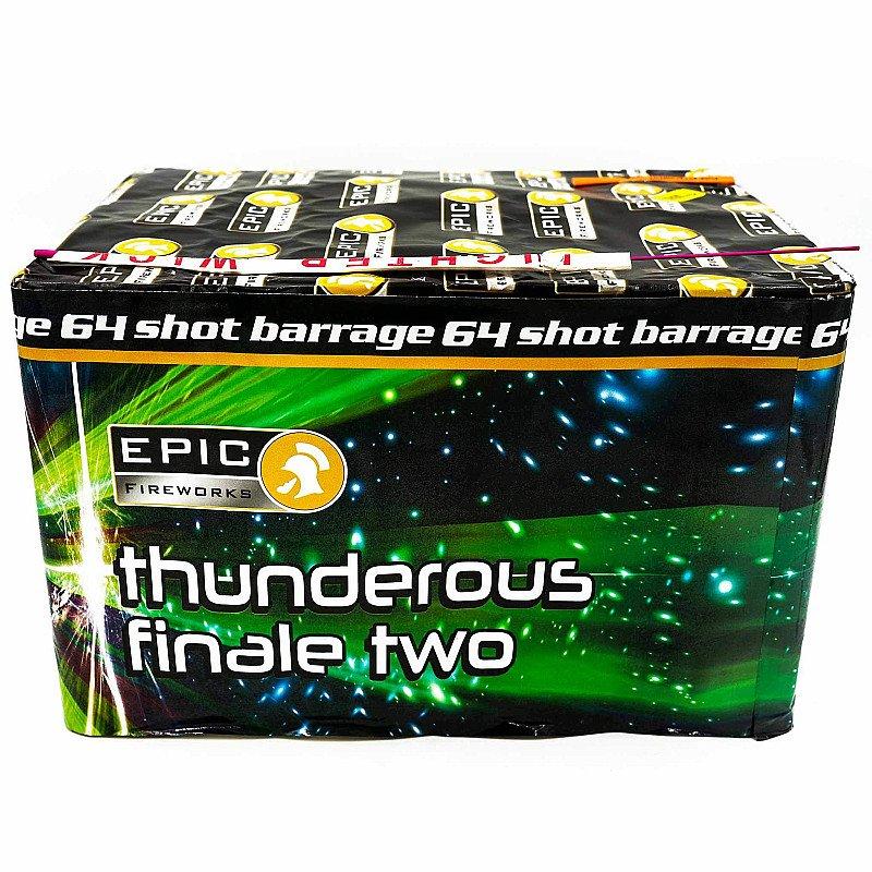 Bonfire Night Deal - THUNDEROUS FINALE TWO 64 SHOT