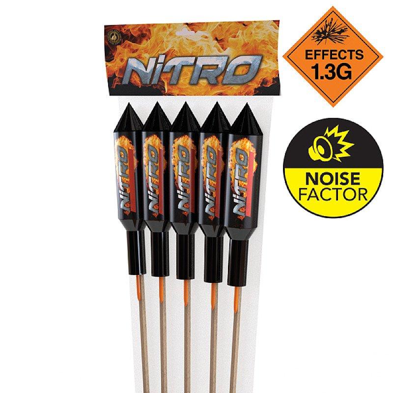 Bonfire Night Deals - Nitro Rocket 5 Pack