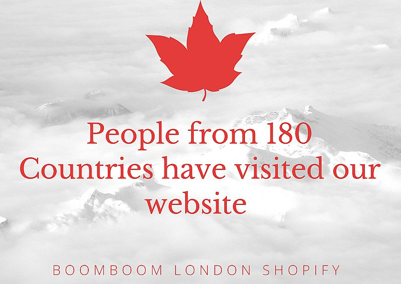 Boom Boom London Shopify Global Vision