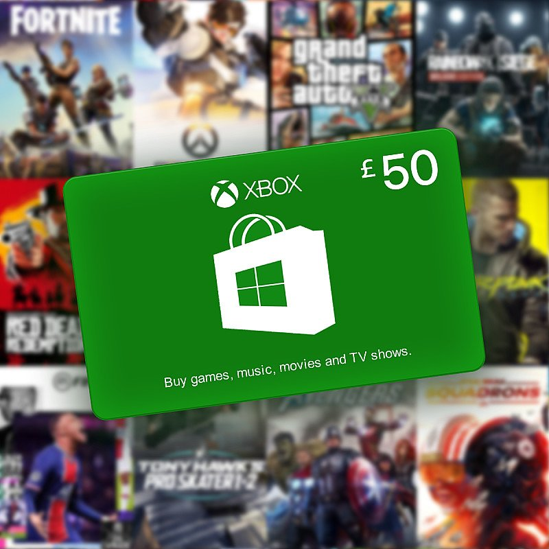 WIN a £50 Microsoft Gift Card for Xbox/Windows