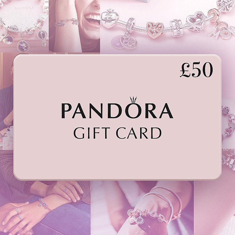 WIN a £50 Pandora Gift Card for in-store or online use