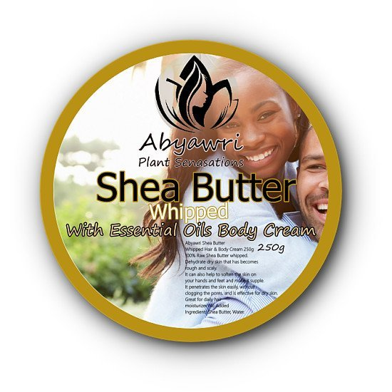 Abyawri Shea Butter Whipped with Essential Oils Body Cream 250g