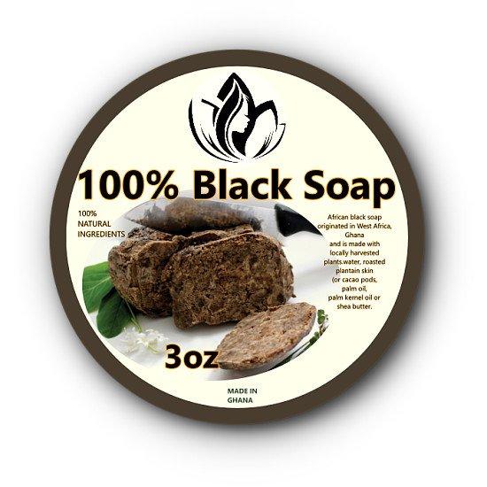 Abyawri GHANA Black Soap 3oz