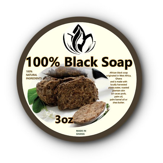 Abyawri Black Soap 3oz