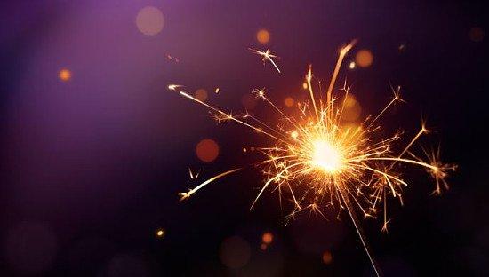 DIY BONFIRE NIGHT - 50 (Gold Effect) Outdoor Sparklers!