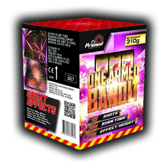 Bonfire Night Deals - One Armed Bandit