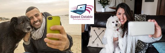 DATE with your DOG - ONLINE Speed Dating Event