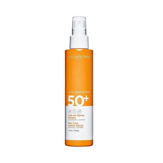 Skin Care: Clarins - Sun Care SPF50 Body Lotion Spray (150ml) £22.50!